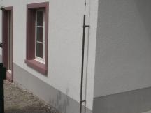 Alte Bauernhaus Fassade komplett saniert