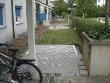 Veloabstellplätze mit Fundament für Überdachung. 5 Stk Überbauung in Rheinfelden.