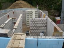 Neubau EFH, Kalksandstein - Sichtmauerwerk