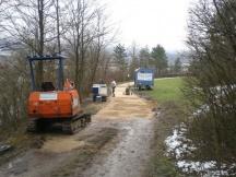 Unterhaltsarbeiten an Mergelstrassen