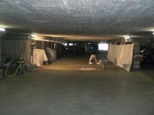 Sanierung Überzug in Einstellhalle, Überbauung in Kaiseraugst.
