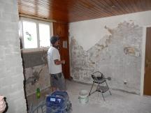 bei Küchenumbauten erledigen wir für sie den Abbruch, die Maurerarbeiten und Gipserarbeiten