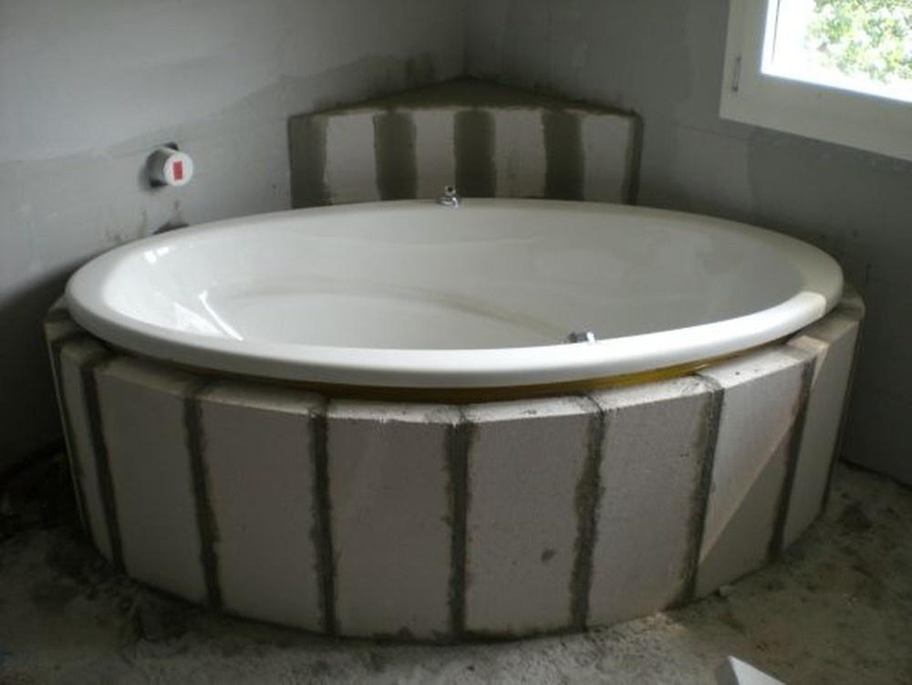 badewanne einmauern mit ytong das beste aus wohndesign und m bel inspiration. Black Bedroom Furniture Sets. Home Design Ideas