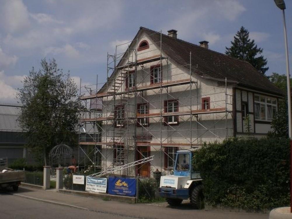 galerie kundenmaurer fassadensanierung braccini bau ag 4313 m hlin fricktal aargau. Black Bedroom Furniture Sets. Home Design Ideas